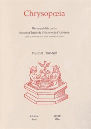 Chrysopoeia Tome 7/2000-2003