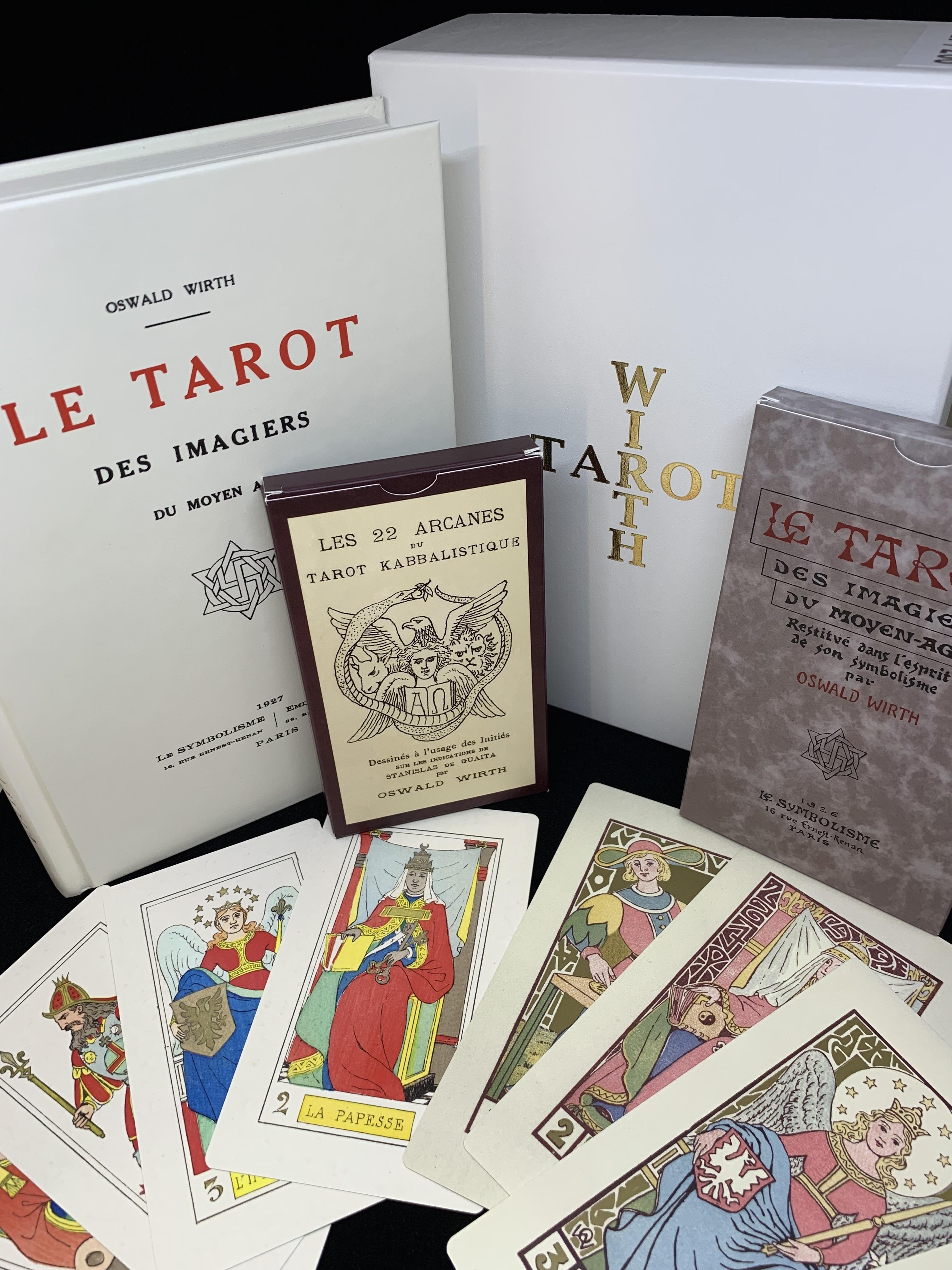 Coffret Tarot de Wirth