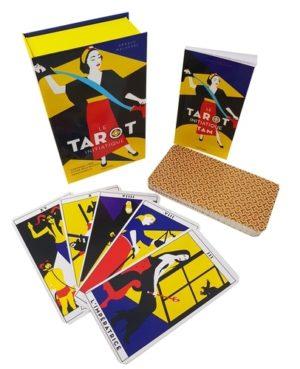 Coffret Le tarot initiatique. Contient 1 livre et 78 lames