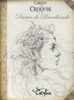 Carnet de croquis des Dames de Brocéliande