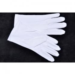 Gants blancs trois baguettes