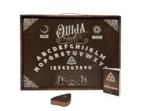 Coffret Soirée spiritisme. Avec 1 planche de Ouija, 1 goutte en bois