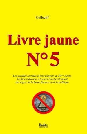 Livre jaune nº5 Hadès Editions