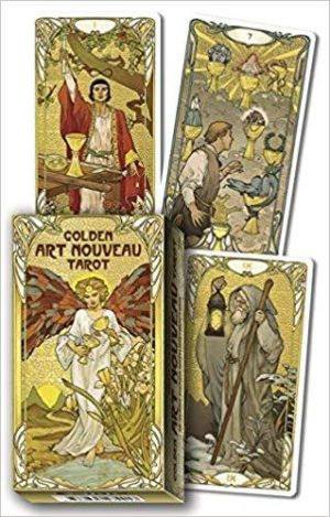 Tarot doré de l'art nouveau (Golden art nouveau tarot)