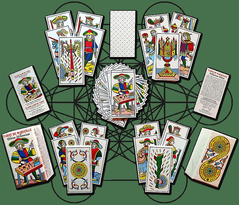 Tarot de Marseille édition millemium 2017