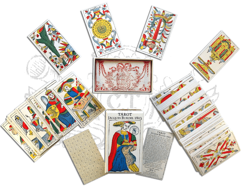 Tarot Jacques Burdel 1813
