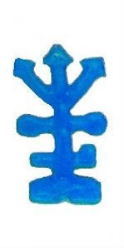 Bougie figurative La bougie des trois flèches