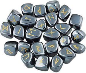 Runes en hématite