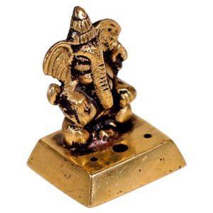 Brûle-encens Ganesh en laiton