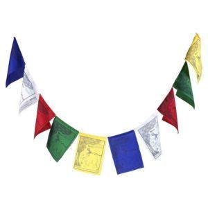 Drapeaux de prière tibet Les quatre amis
