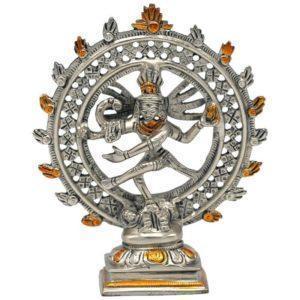 Shiva nitaraj en laiton double