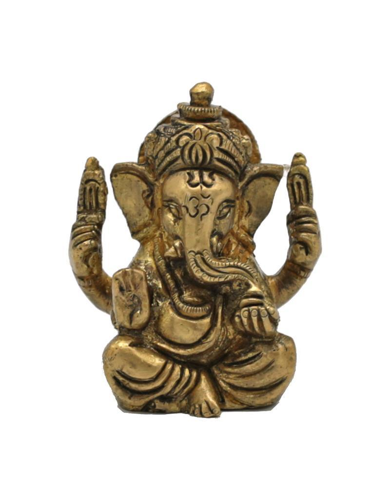 Ganesh miniature en laiton