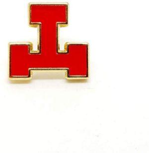 Pin's maçonnique – Arche Royale – Triple Tau – Emaillé rouge