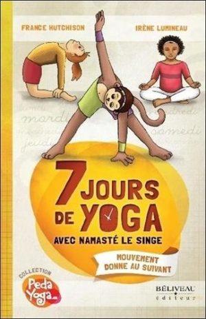 7 jours de yoga avec Namasté le singe
