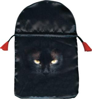 Bourse pour tarot Chat noir