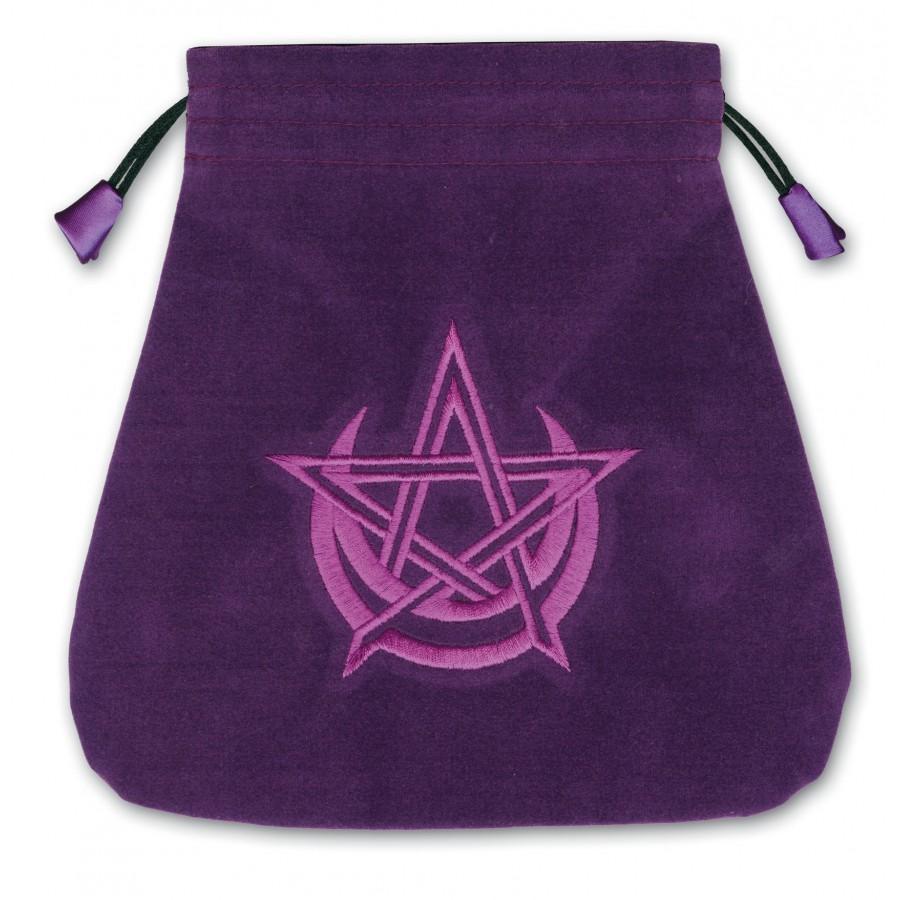 Bourse pour tarot Wicca