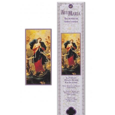 Encens Sanctus Marie qui défait les noeuds