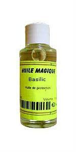 Huile magique Basilic