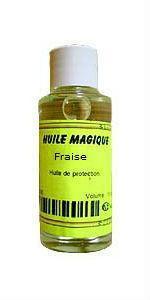 Huile magique Fraise