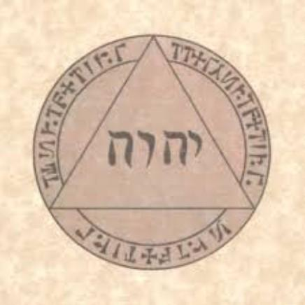 Pentacle abbé julio triangle divin