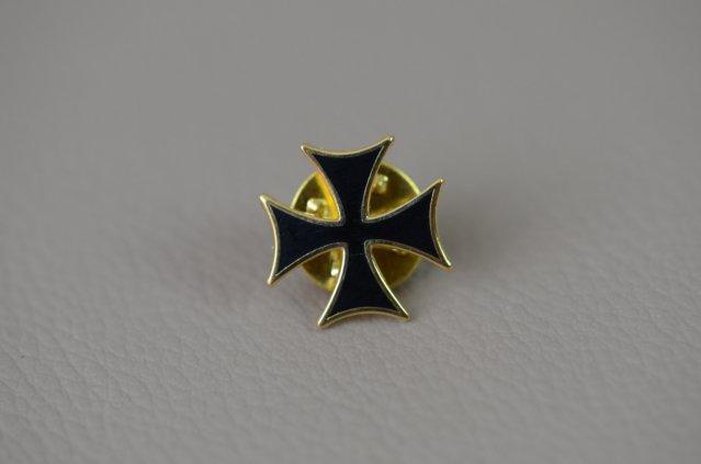 Pin's croix – Croix teutonique