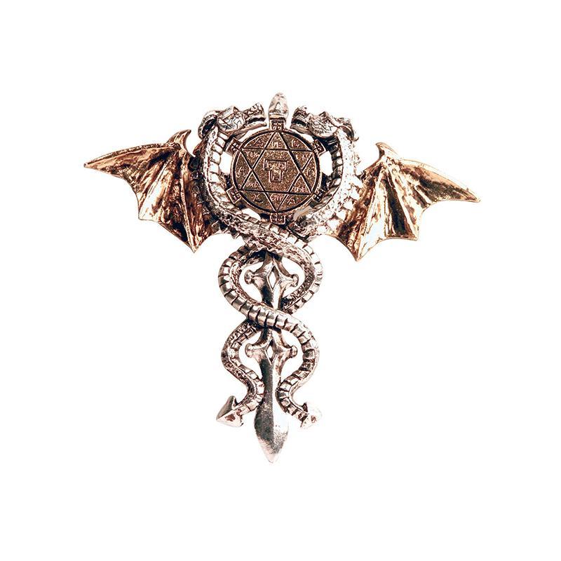 Pendentif Amulette du Dragon Sacre