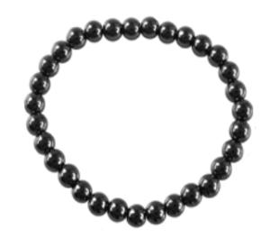 Bracelet Hématite Perles rondes 6 mm