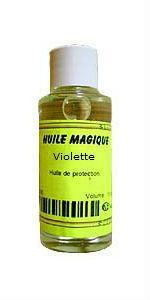 Huile magique Violette