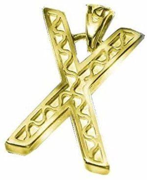 Pendentif berbère Rencontre en plaqué or