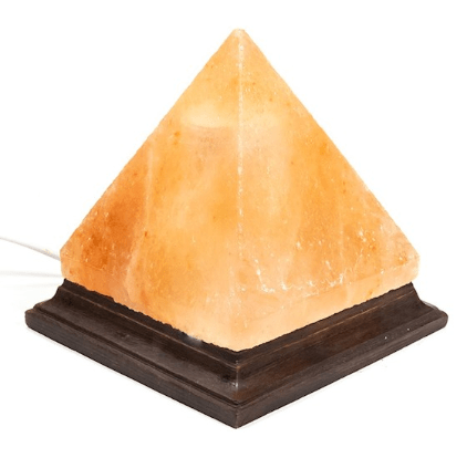 Lampe en cristal de sel pyramide