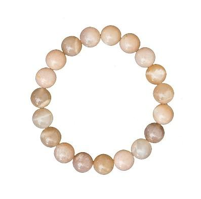 Bracelet en pierre de soleil 8 mm