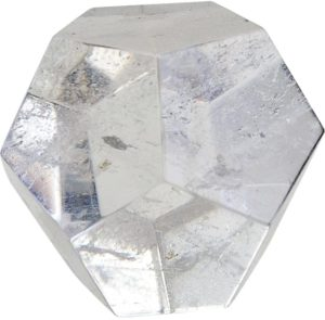Dodécaèdre Cristal de roche 4,5 cm