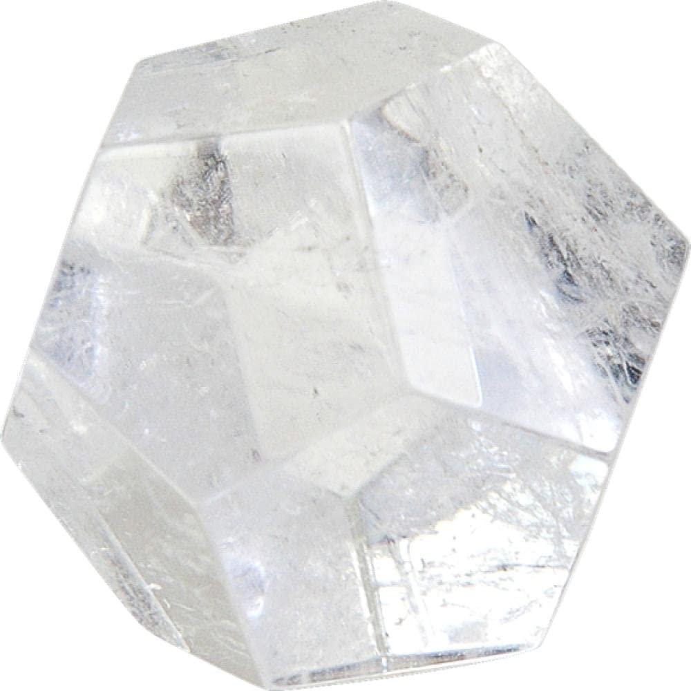 Dodécaèdre en Cristal de roche 3 cm