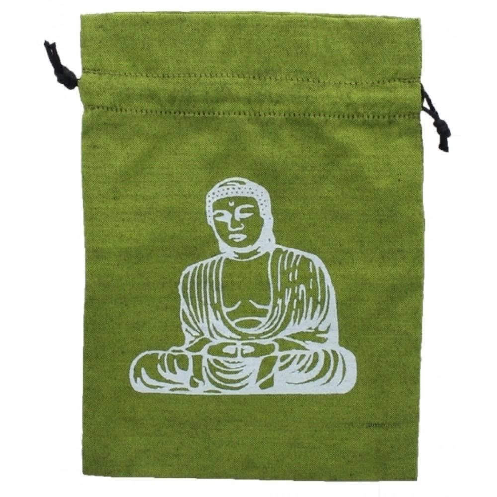 Bourse pour tarot Bouddha