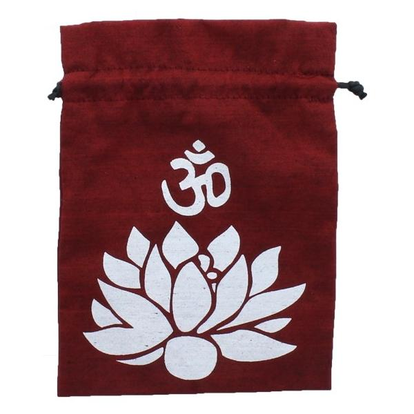 Bourse pour tarot Om Lotus