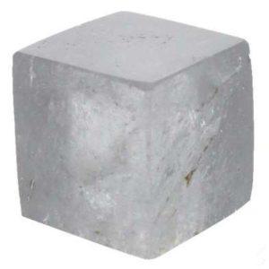 Cube en Cristal de roche