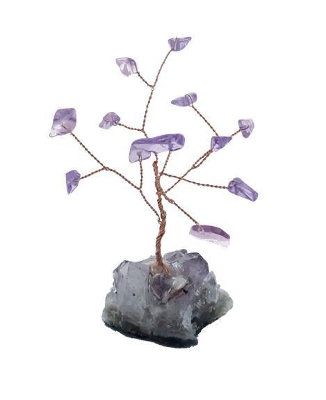 Arbre du Bonheur Améthyste 12 pierres