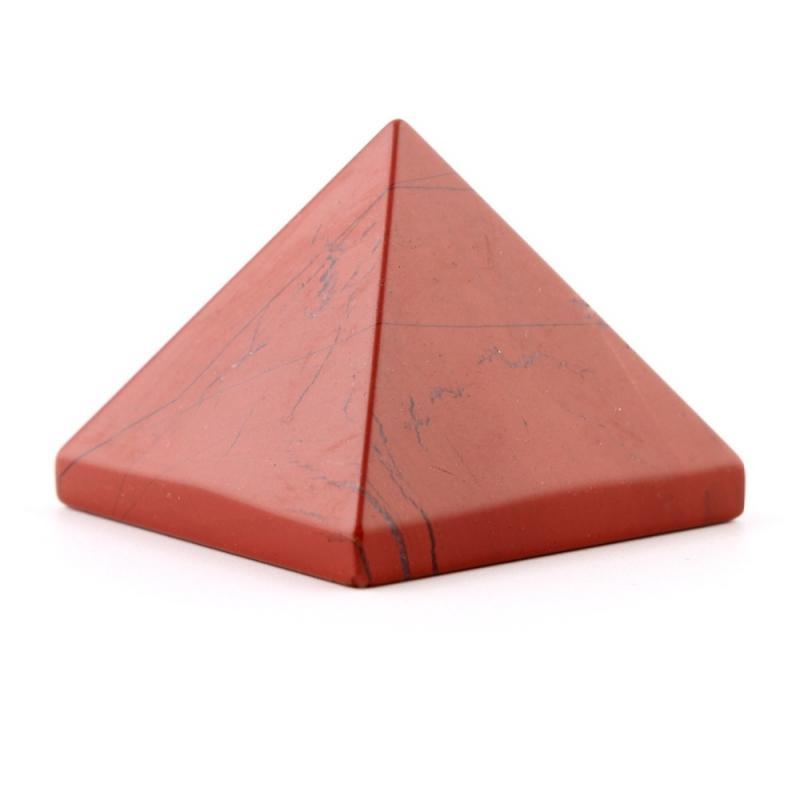 Pyramide Jaspe Rouge