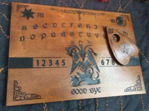 Planche Ouija Baphomet l'authentique