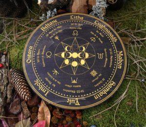 Roue Wicca Reine Wicca