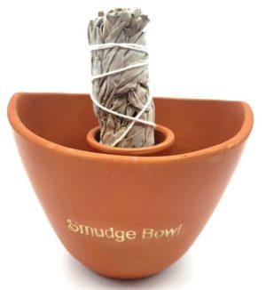 Bol de fumigation en céramique (Smudge bowl) 13 cm